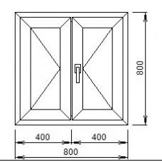 Холодильник ПВХ, шпульповое открывание